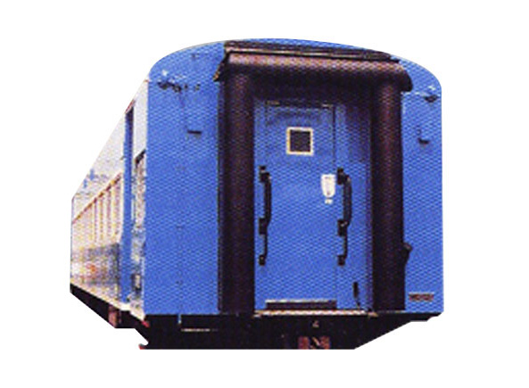 Rubber gangway diaphragm for passenger cars